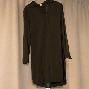 Old Navy- Olive shirt dress-worn once!